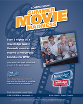Summer Movie Madness Ad