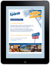Guest Rewards E-Newsletter